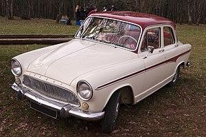 Simca Aronde - Simca Aronde 4-door saloon (P60)