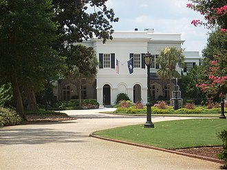South Carolina Governor's Mansion - Image: South Carolina Governor's Mansion, 800 Richland St., columbia (Richland County, South Carolina)