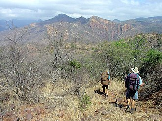 Soutpansberg - Hikers in the central Soutpansberg
