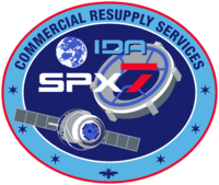 Emblemat SpaceX CRS-7