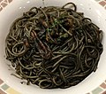 Spaghetti (nero di seppia) of Saizeriya (trim).jpg