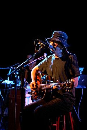 Sparklehorse - Image: Sparklehorse, Linkous, Transilvania live, Milano, Italy, 2007 05 22