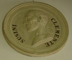 Clemente Susini - Medallion of Clemente Susini