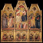 Spinello Aretino - Coronation of the Virgin - WGA21678.jpg