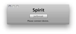 Spirit on Mac OS X