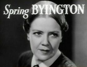 Byington in the Little Women trailer (1933)