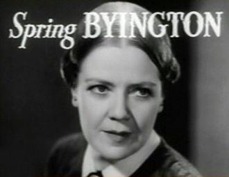 Spring Byington - Image: Spring Byington in Little Women trailer