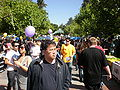 Sproul Plaza during Cal Day 2009 1.JPG