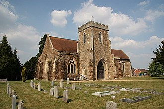 Langford, Bedfordshire - Image: St.Andrew's church geograph.org.uk 1384182