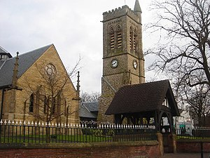 Westhoughton - The parish church of St. Bartholomew