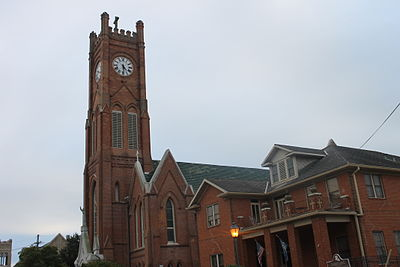 St. Francis Xavier Cathedral in downtown Alexandria St. Francis Xavier Cathedral, Alexandria, LA IMG 4357.JPG