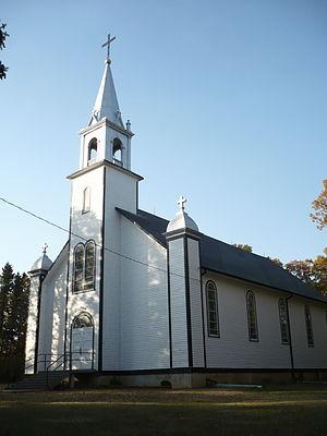 St. Lupicin, Manitoba - St. Lupicin Roman Catholic Church