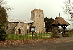 St. Mary's church at Dallinghoo - geograph.org.uk - 330680.jpg