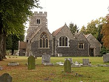 St. Mary Magdalene, the parish church of North Ockendon - geograph.org.uk - 1517834.jpg