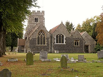 Grade I and II* listed buildings in the London Borough of Havering - Image: St. Mary Magdalene, the parish church of North Ockendon geograph.org.uk 1517834