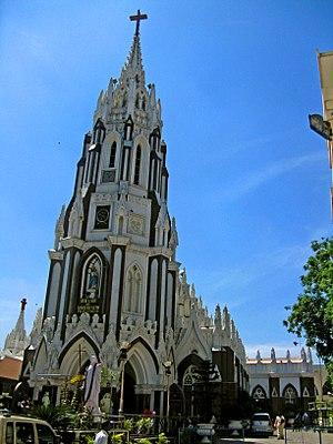 St. Mary's Basilica, Bangalore - Image: St. Marys Basilica Bangalore 2
