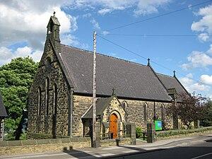 St Mark's Church, Grenoside - St Mark's Church, west side