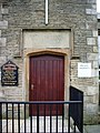 St Clements Church and School, Green Haworth, Doorway - geograph.org.uk - 717349.jpg