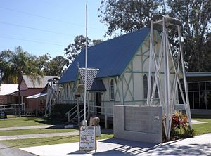 St George's Anglican Church, Beenleigh - Church in 2015
