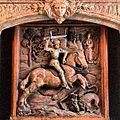 St George & his dragon at headquarters of The English Speaking Union... (9301976706).jpg