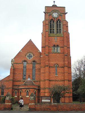 St. James End, Northampton - Image: St James' Parish Church, Northampton, England