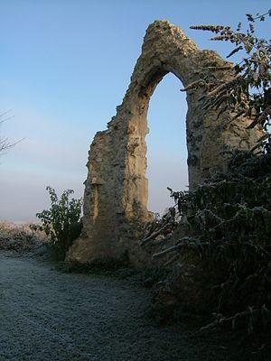Reach, Cambridgeshire - Image: St John's ruin, Reach