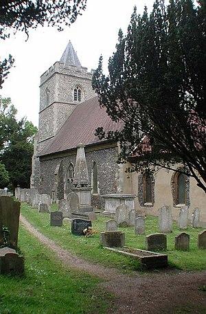Amwell, Hertfordshire - Image: St John the Baptist, Great Amwell, Herts geograph.org.uk 348894