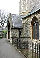 St Leonard, Heston - Porch - geograph.org.uk - 1776322.jpg
