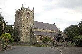 Chirbury - Image: St Michael's church Chirbury geograph.org.uk 1376683