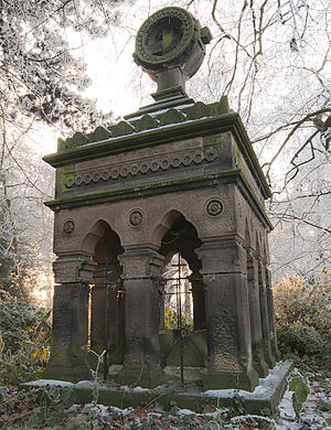 St Michael on Greenhill, Lichfield - Mausoleum of James Thomas Law