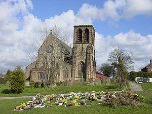 Whiston, Merseyside - Image: St Nicholas' Church, Whiston geograph.org.uk 147261