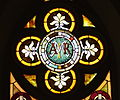 St Sebastian - St Sebastian, Ohio - Mary window.jpg