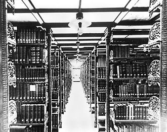 Southport, Connecticut - Stacks at the Pequot Library