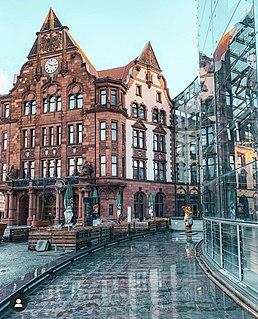 Altes Stadthaus, Dortmund German office block built in 1899