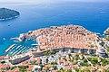Stadtmauer in der Altstadt von Dubrovnik in Kroatien (48612990916).jpg