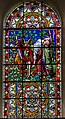 Stained glass window, All Saints' church, Gainsborough (18193285855).jpg