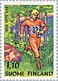 Stamp of Finland - 1979 - Colnect 46869 - Orienteering runner inside forest.jpeg