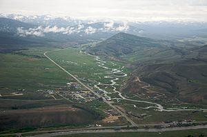 Stanley, Idaho - Stanley in June 2009