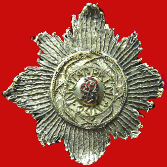 Order of Saint Stanislaus - Image: Star of the Polish Order of Saint Stanislaus (XVIII century)