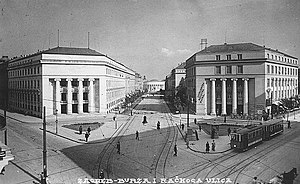 Croatian Nobles Square (Zagreb) - Square in 1930's