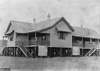 Croydon, Queensland - Croydon State School, circa 1893