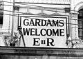 StateLibQld 1 213840 Gardams Silk Store in Queen Street, Brisbane, prepares for the visit of Queen Elizabeth II and Prince Philip in 1954.jpg