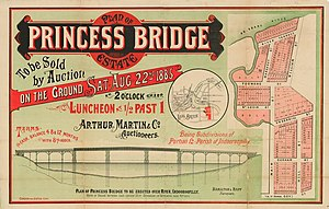 St Lucia, Queensland - Estate map of Princess Bridge Estate, St. Lucia