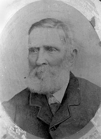 Hornet Bank massacre - Andrew Scott, circa 1880