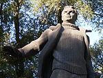 Statue of Valery Chkalov in Dnipropetrovsk 04.JPG