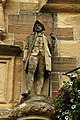 Statue on town hall in Kirkwall in summer 2012.jpg