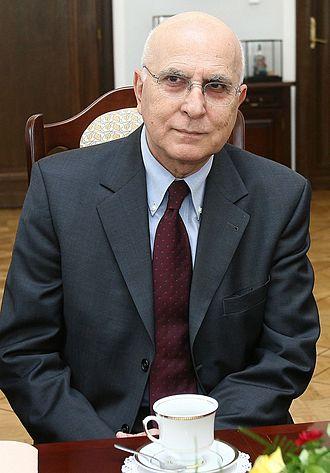 2014–15 Greek presidential election - Image: Stavros Dimas Senate od Poland