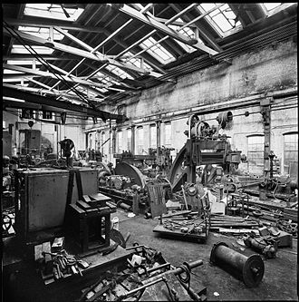 Passaic Machine Works-Watts, Campbell & Company - Watts, Campbell interior in 2010