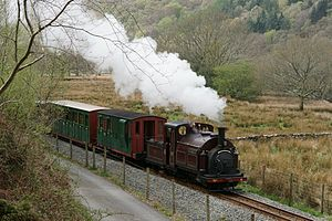 Ffestiniog Railway rolling stock - Image: Steam 150 (Monday) Flickr Peter G Trimming (7)