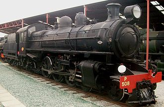 4-6-2 - Western Australian Government Railways P class no. 508